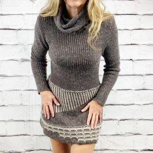 Mohair blend sweater dress
